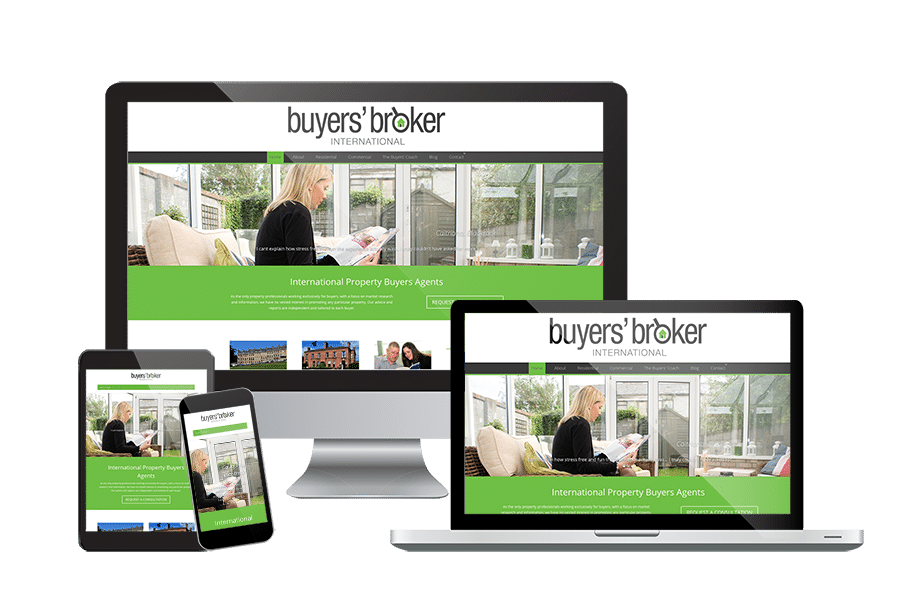 Buyers Broker International Website Design
