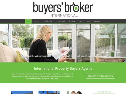 Buyers Broker International <em>Website Design & Branding</em>