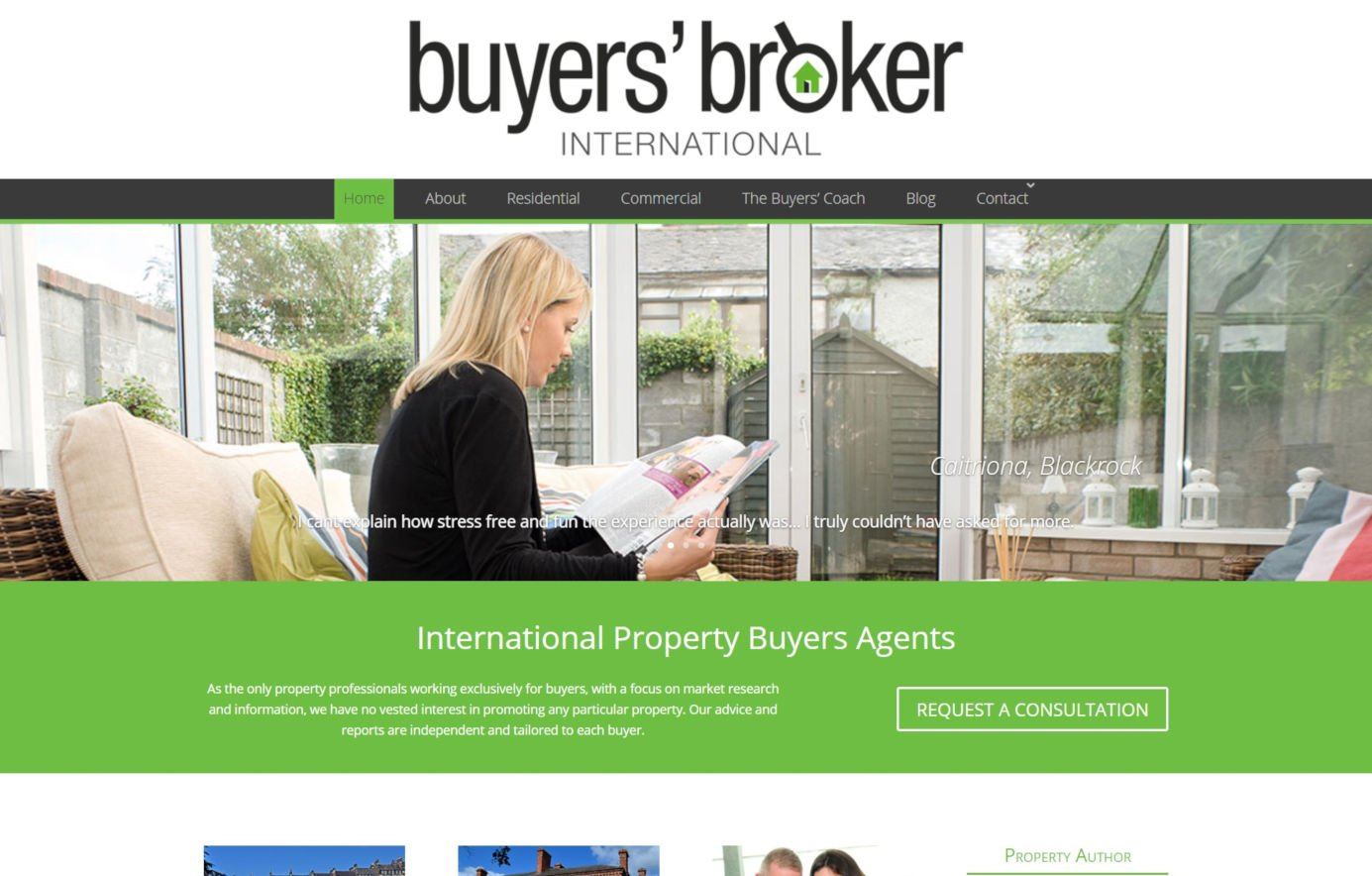 Buyers Broker - Property Website Design - Featured