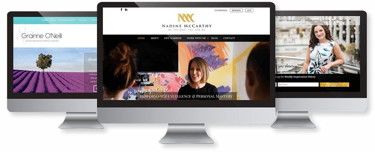 Custom Website Design For Female Entrepreneurs
