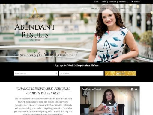 Abundant Results <em>Website Design & Branding</em>