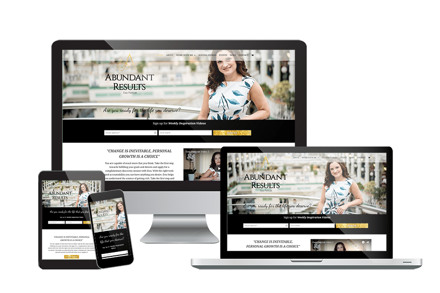 Abundant Results Website & Branding Design