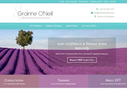 Grainne O'Neill <em>Website Design & Branding</em>