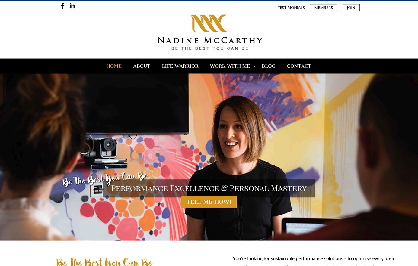 Nadine-McCarthy-Coaching-Membership-Website-Design-Featured2