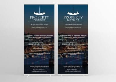 Property-District-Banner-Stands-Design