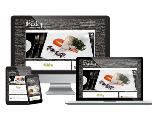 The Bailey Bar & Eatery <em>Website Design</em>