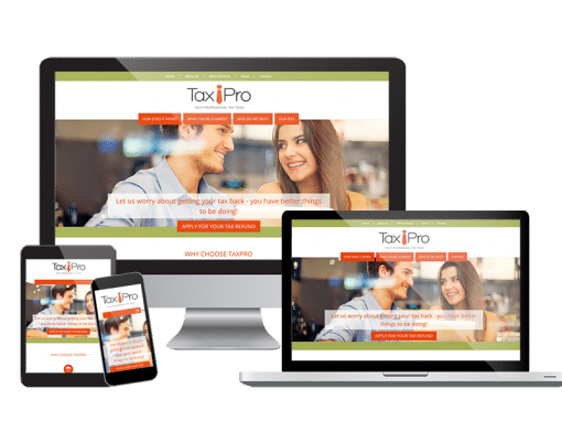 Taxpro <em>Website Design & Branding</em>