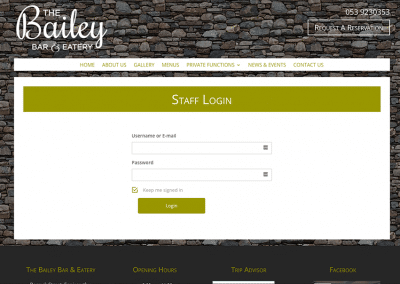 The-Bailey-Staff-Login