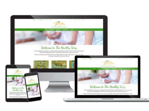 The Healthy Way <em>Website Design</em>