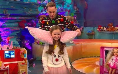 The Bed Angel featured on The Late Late Toy Show 2017