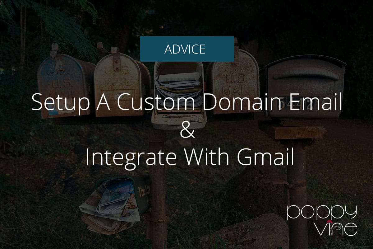 Create a Professional Custom Domain Email Address for Your Website