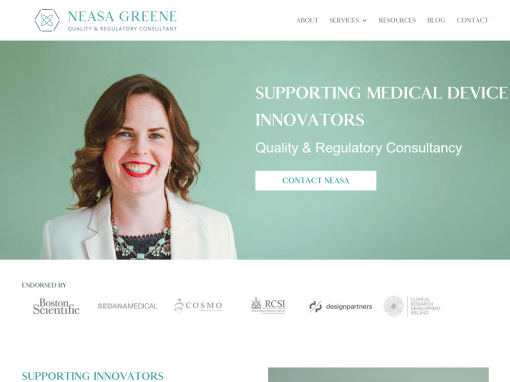 Neasa Greene <em>Website Design & Branding</em>