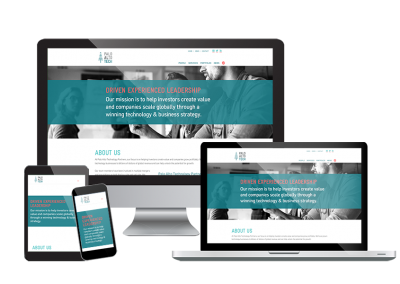 Palo Alto Technology - Consultancy Website Design - Responsive Design - Poppyvine Web Design