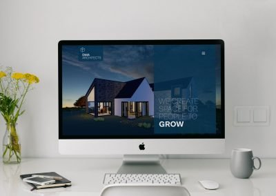 DMA-Architects-Website-Design-iMac