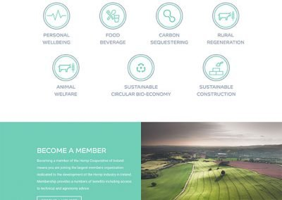 Hemp-Cooperative-Membership-Website-Design-Homepage