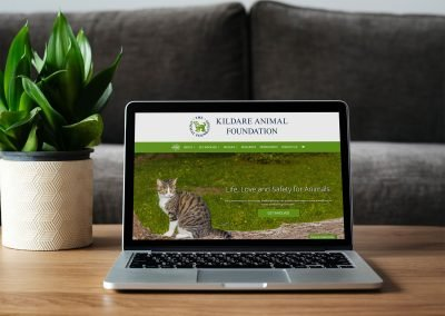 Kildare Animal Foundation MacBook View