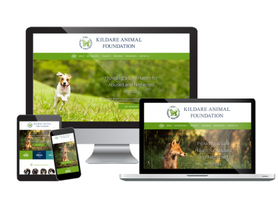 Kildare Animal Foundation Responsive Website Design