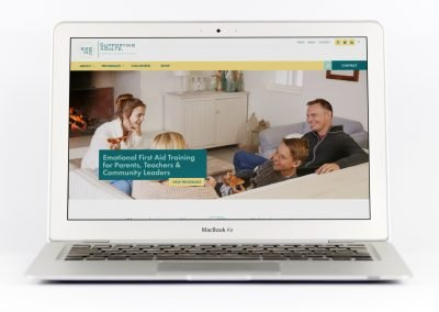 See Me Supporting Adults to Support Young People Wordpress Website Design View on MacBook Air